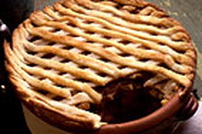 Картофель, запеченный с луком