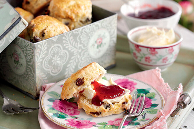 Английские булочки-сконы к завтраку