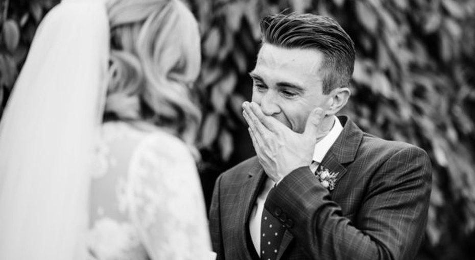 Первый взгляд. 19 фотографий момента, когда жених иневеста впервые видят друг друга