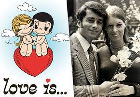 Невероятная история любви авторов популярных комиксов Love is