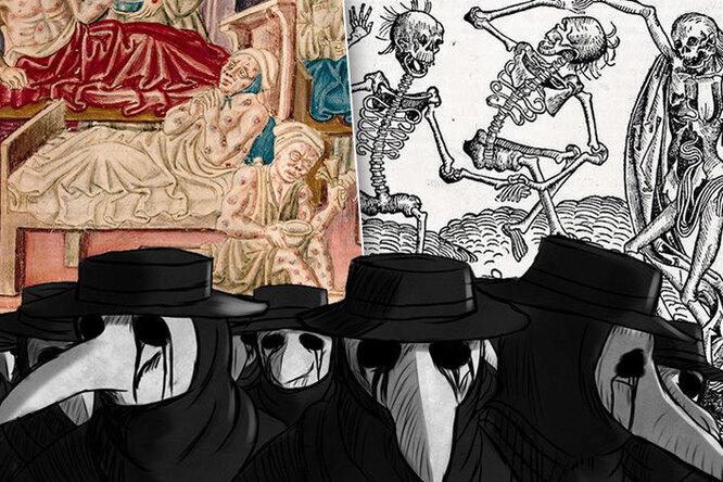 Секс во время чумы: как проявляли сексуальность вСредневековье