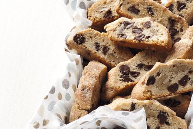 Итальянское печенье с грецкими орехами