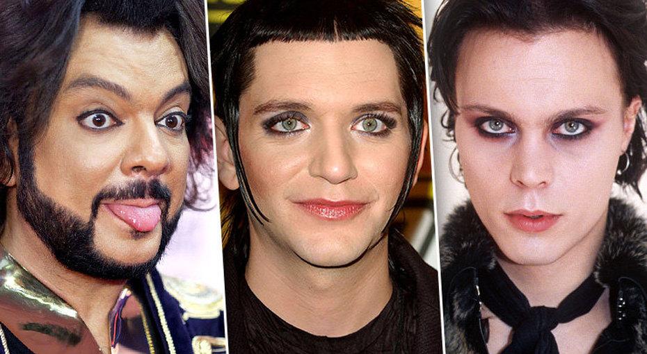 Не только длядевушек: 10 знаменитых мужчин, которым нравится макияж