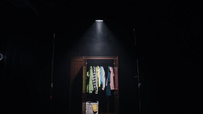 Кадр из проекта «Говорящие предметы» - против жестокого обращения с детьми