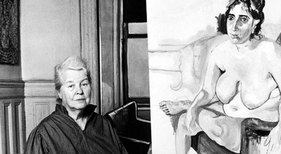 Элис Нил: как нарисовать портрет почти весь изпенисов, но прославиться совсем неэтим