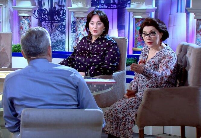 Роза Сябитова и Лариса Гузеева в шоу  Давай поженимся
