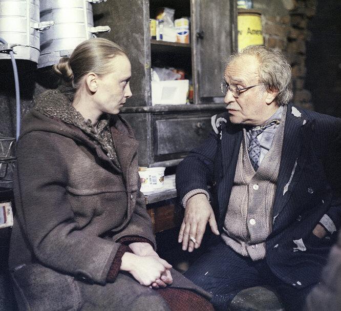 Ролан Быков и Вера Майорова
