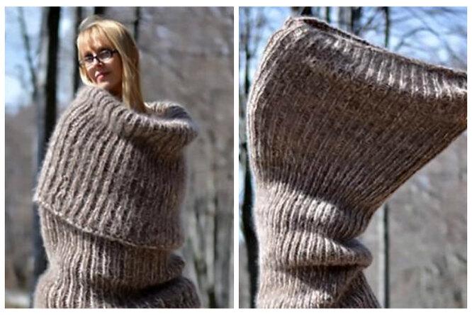«То ли платье, то ли гигантский носок»: болгарский бренд предложил одежду снеоднозначным дизайном