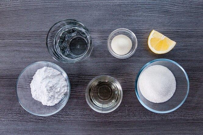 Ингредиенты для домашнего маршмеллоу