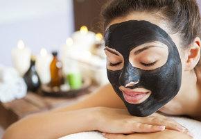 Желатиновая маска с углем. Бархатная кожа за 10 минут и 100 рублей