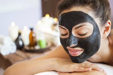 Желатиновая маска суглем. Бархатная кожа за10 минут и100 рублей