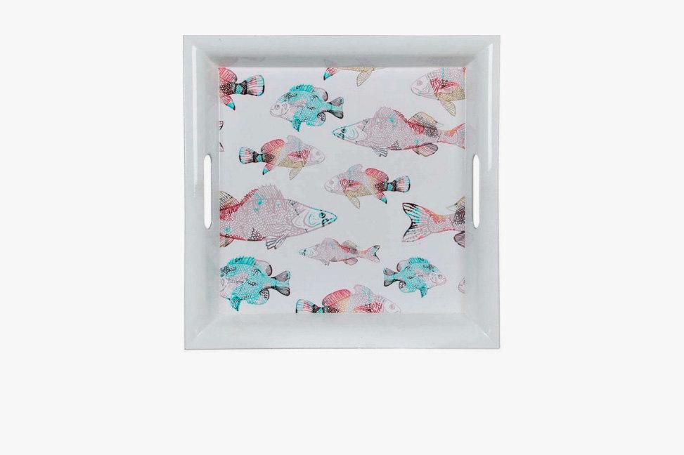 House of Seasons, поднос «Рыбки», пластик, 612 руб.