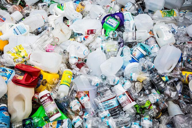 Решение проблемы с пластиковым мусором