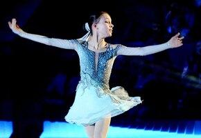 16-летняя Анна Щербакова в третий раз стала лучшей фигуристкой России