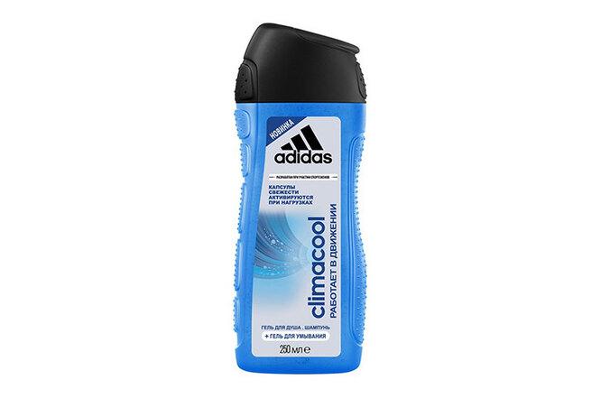 Гель для душа, шампунь и гель для умывания Climacool, Adidas