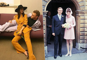 Еще и бикини: самые неожиданные свадебные наряды звездных невест