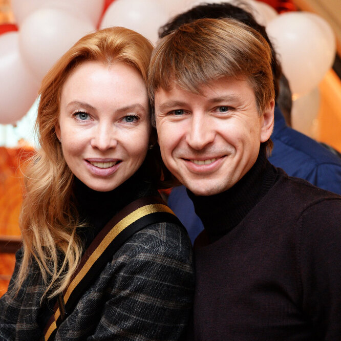 Дмитрий Марьянов и Ирина Лобачева