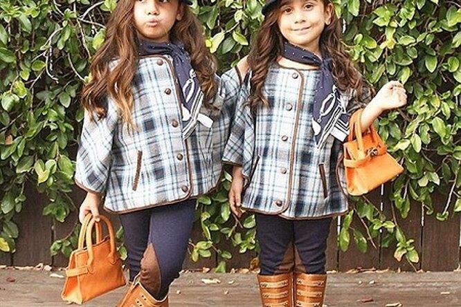 Четырехлетние модные близняшки покорили Интернет