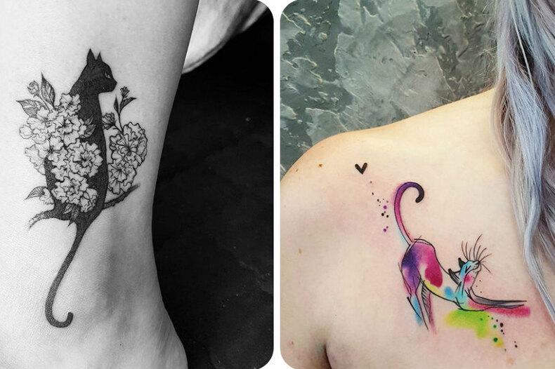 Лучшие татуировки скошками, что вы когда-либо видели!