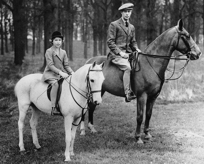 Георг V и Елизавета II