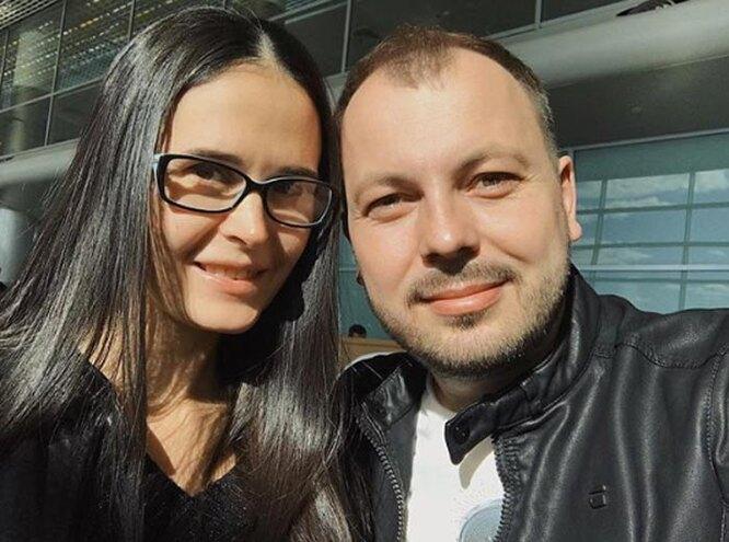 Ярослав с женой Натальей