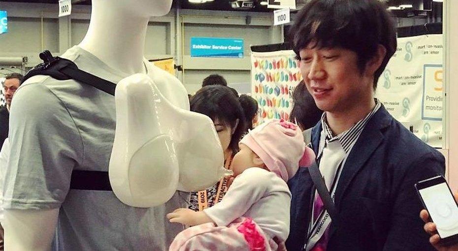 Японцы представили девайс для пап, которые хотят «кормить грудью». Его поняли не все