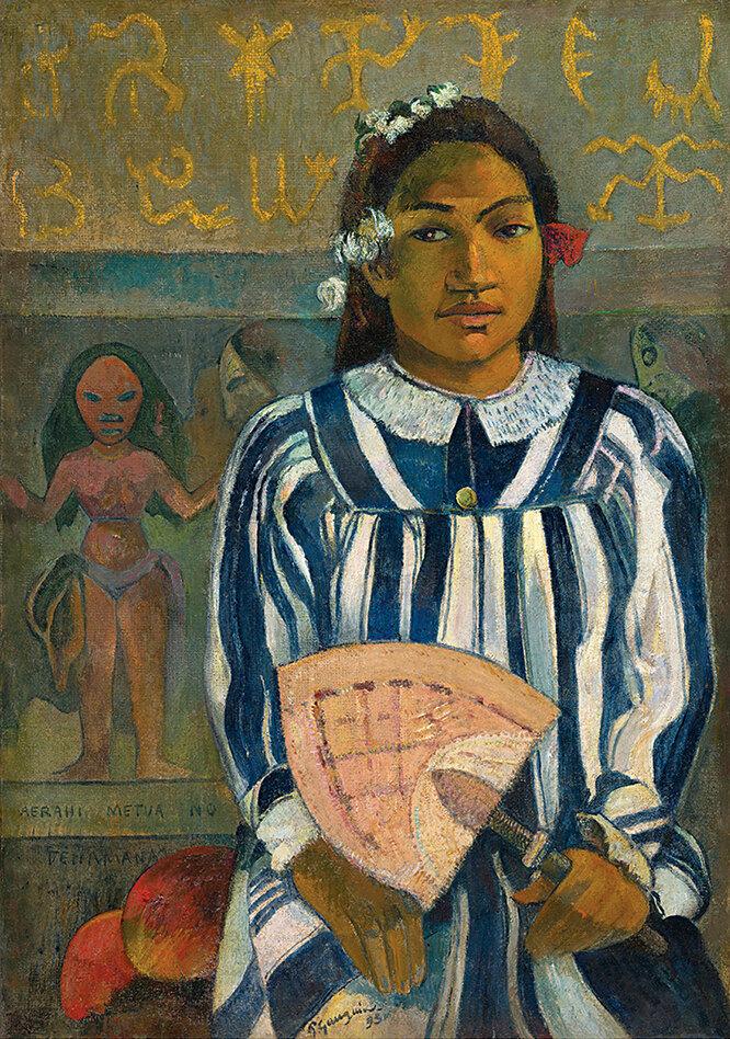 Предки Техаманы. 1893