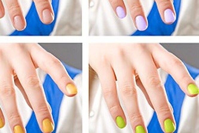 Актуальный дизайн ногтей 2011 года