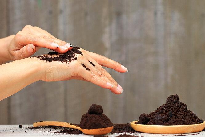 Кофе вместо косметики: 6 способов использовать кофейную гущу