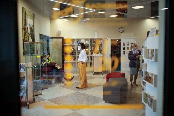 Библиотека Дубны