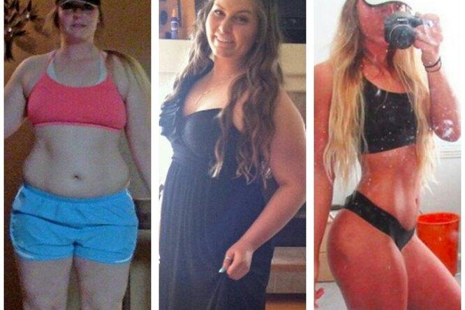 Девушка, которую дразнили залишний вес, взяла себя вруки истала моделью
