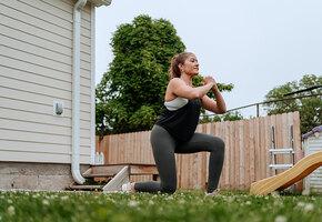 Зарядка на грядке: упражнения, снимающие напряжение