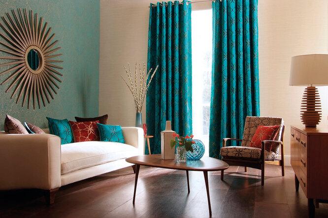 Как выбрать шторы длягостиной?