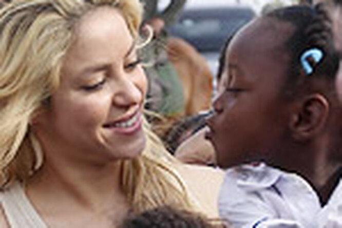 Шакира открывает школу