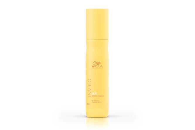 Спрей-уход для защиты окрашенных волос с УФ-фильтром и провитамином B5 Invigo Sun, Wella Professionals