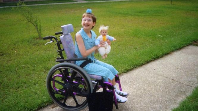 Джипси передвигалась на коляске, хотя не нуждалась в этом