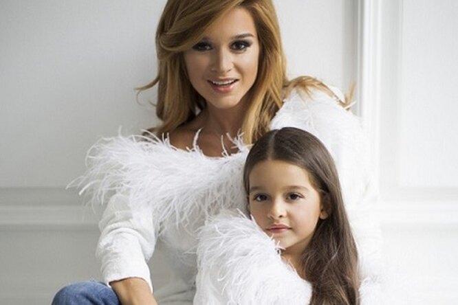 Шестилетней дочке Ксении Бородиной пророчат успешное будущее модели