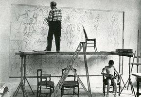 Полет над городом. Три женщины Марка Шагала