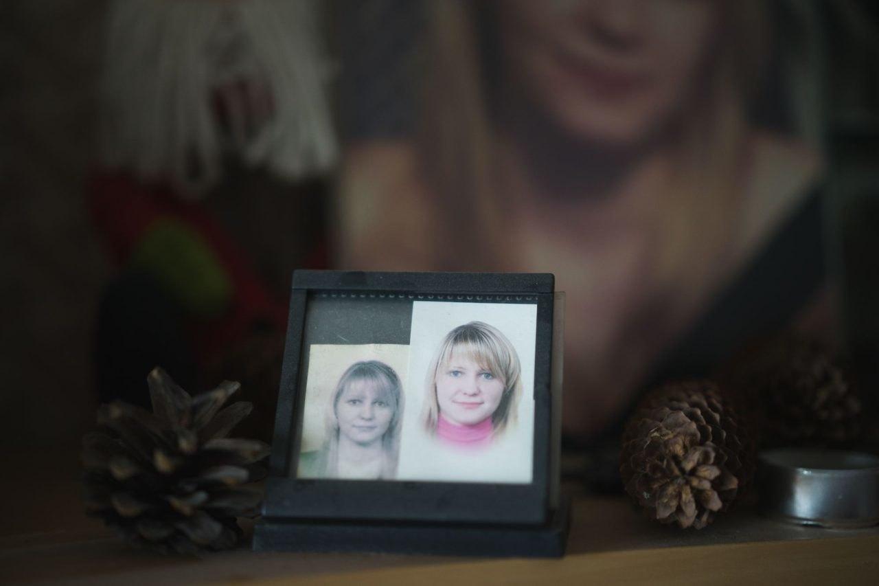Фото погибшей дочери вкомнате Анны Вербы Фото: Станислава Новгородцева дляТД