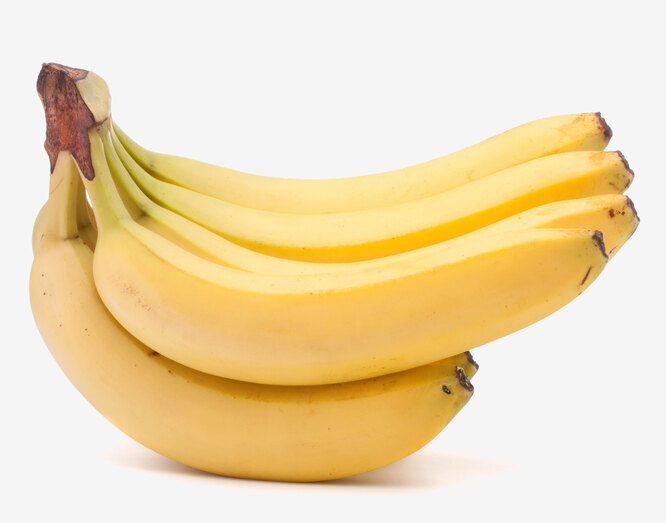 Бананы, дешёвые продукты для похудения