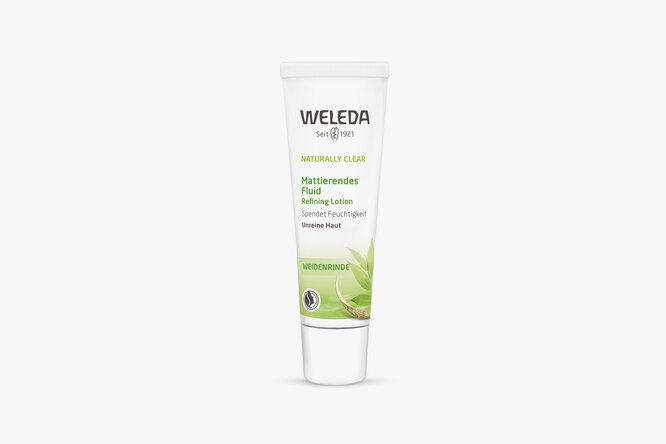 Матирующий флюид для жирной и комбинированной кожи Weleda