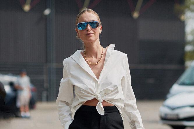 Простой способ выглядеть ВАУ: 5 вариантов, как стильно носить белую рубашку