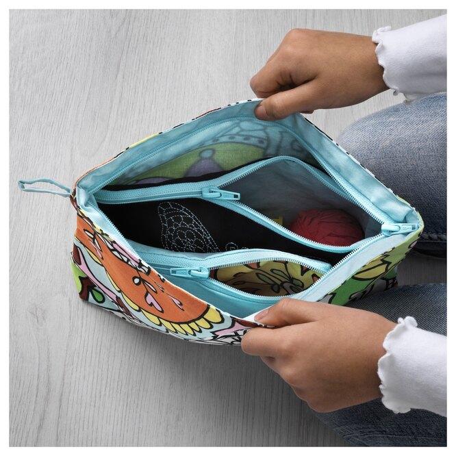 сумочка для мелочей из икеа