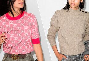 10 легких свитеров для начала осени