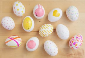 Впечатляющий декор для пасхальных яиц