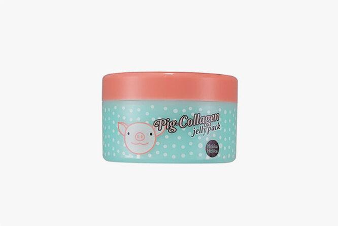 Ночная маска для лица Pig-Collagen jelly pack, 8