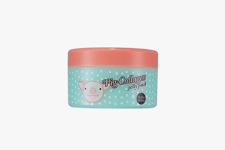 Ночная маска длялица Pig-Collagen jelly pack, 8