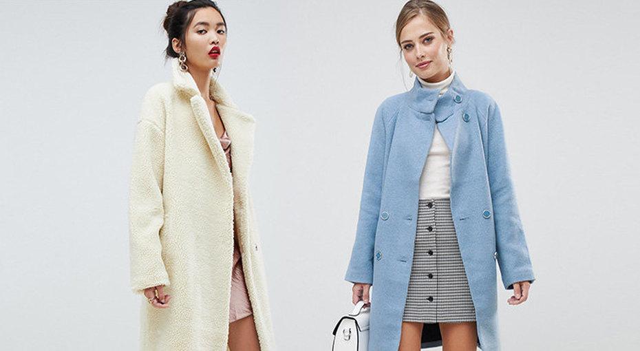 Ждем весну: 8 модных пальто оттенков пастели