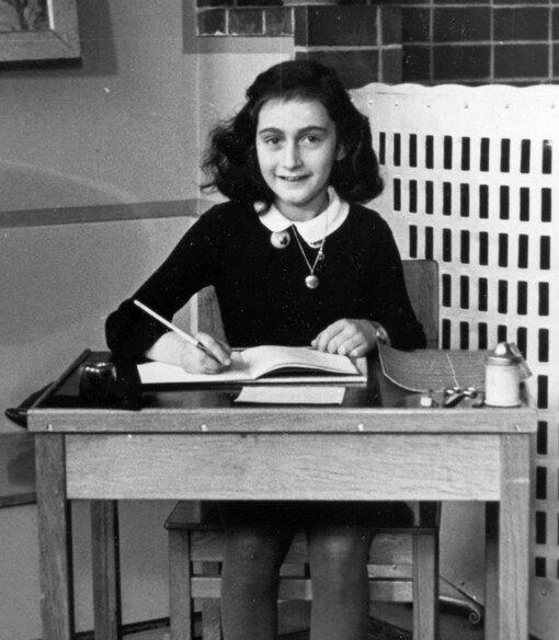 Анна Франк в 1940 году