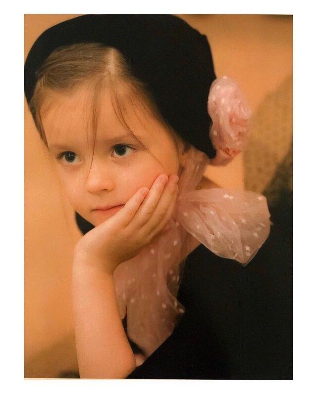 Евдокия Карева в детстве